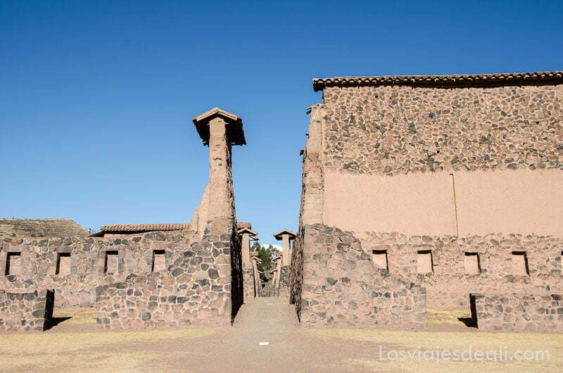 muros de adobe y piedra de los incas
