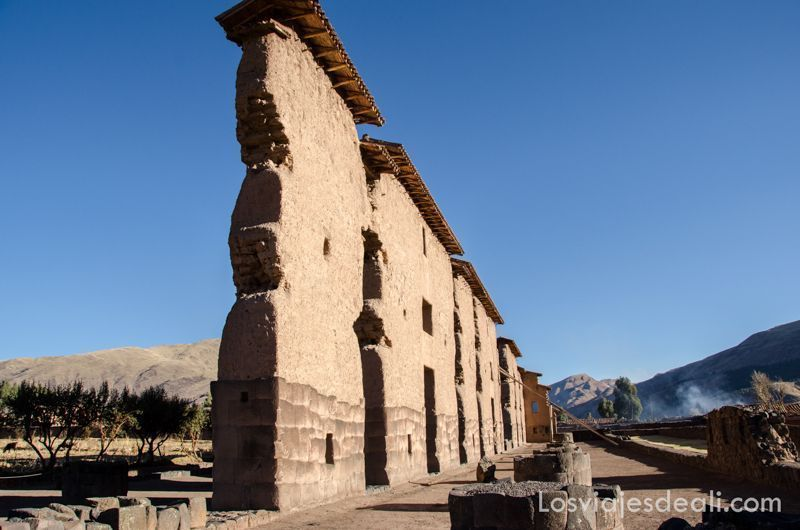 templo de wiracocha en ruta Sillustani y Raqchi