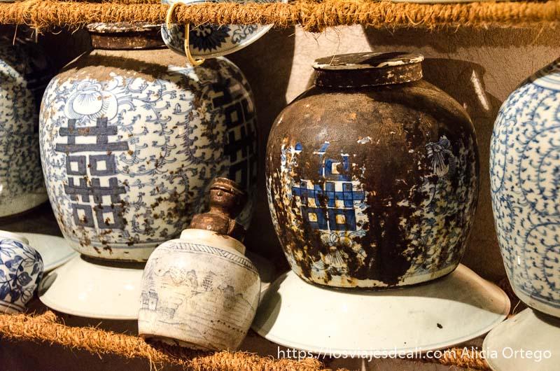 vasijas de china muy antiguas