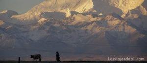 Pico Lenin en kirguizstan