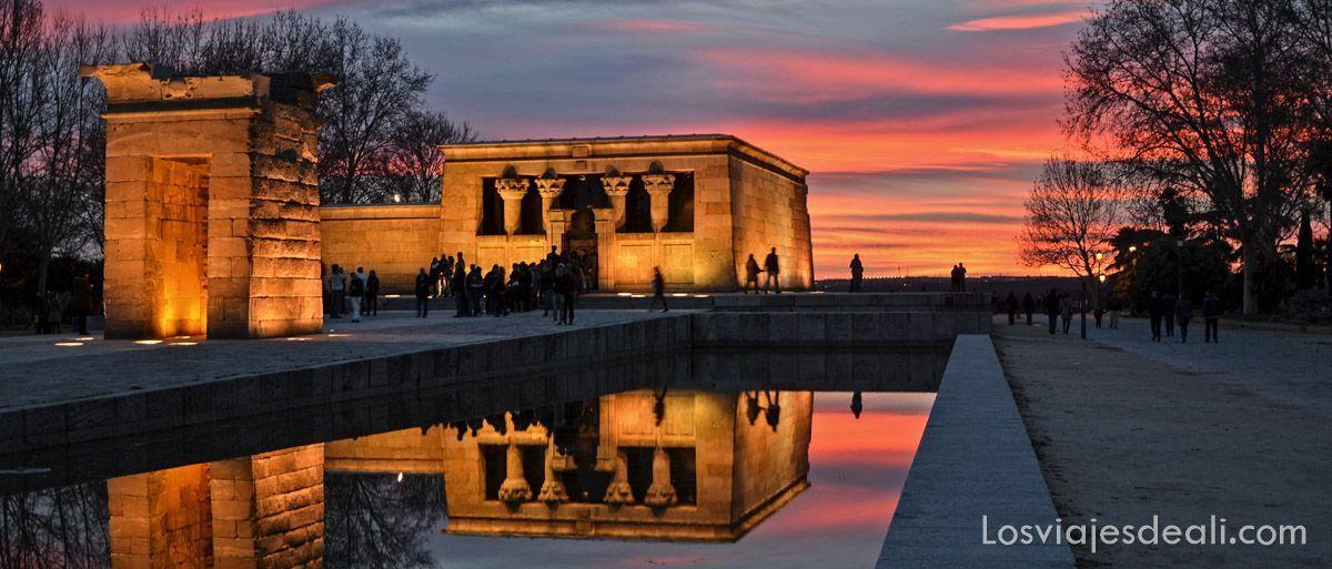 templo de debod madrid