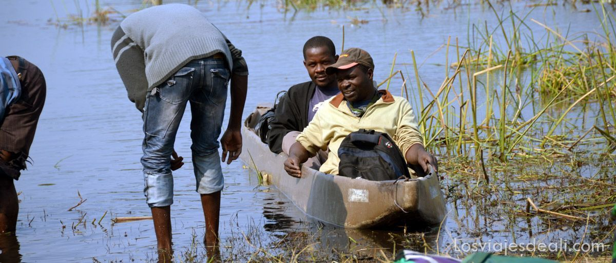 mokoros en delta del okavango