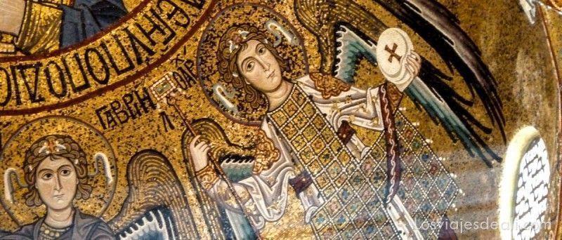 mosaicos del palazzo normandi en palermo