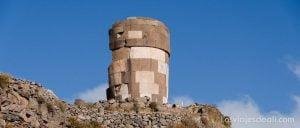 ruinas de sillustani en Peru