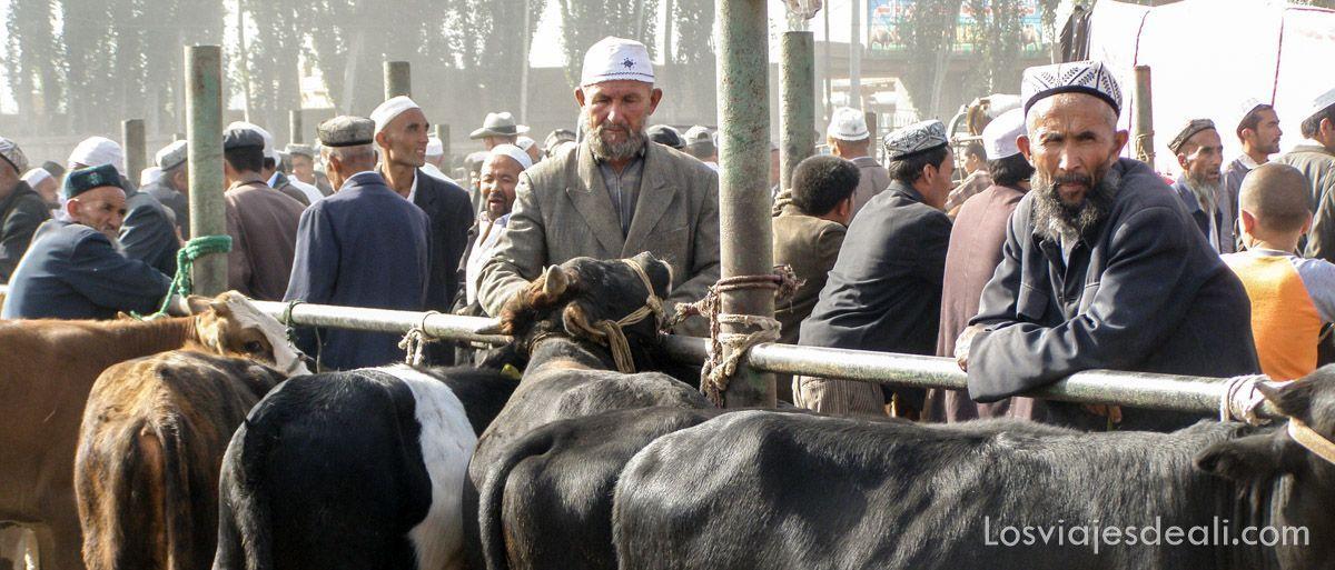 mercado de kashgar