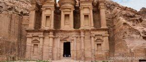 monasterio de Petra Jordania