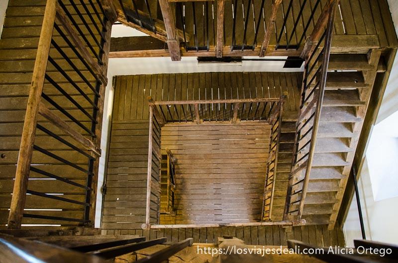 escaleras vistas desde arriba qué ver en pécs