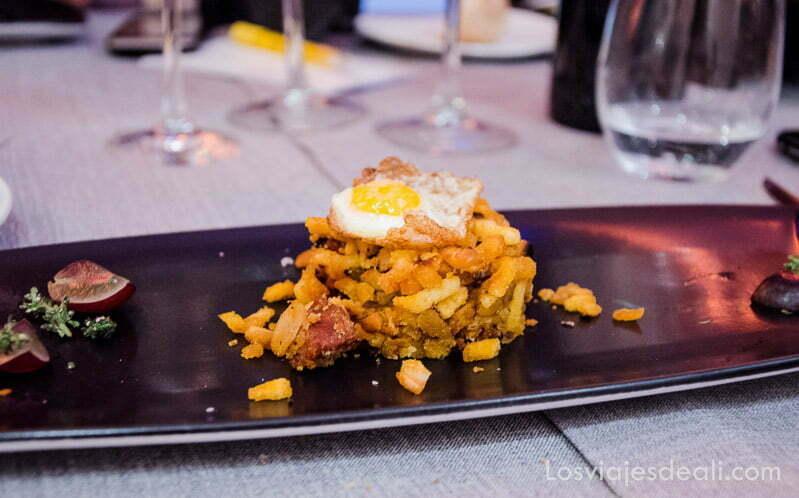 migas con huevo toledo capital española de la gastronomía