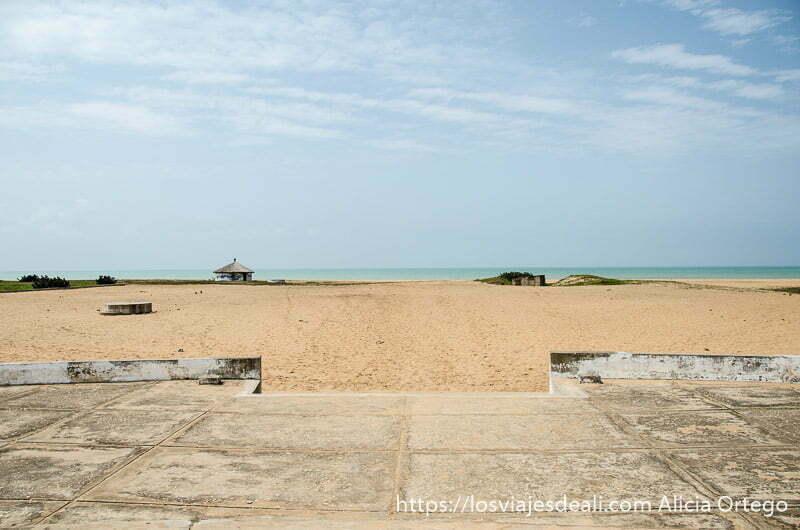 playa donde embarcaban los esclavos en benin