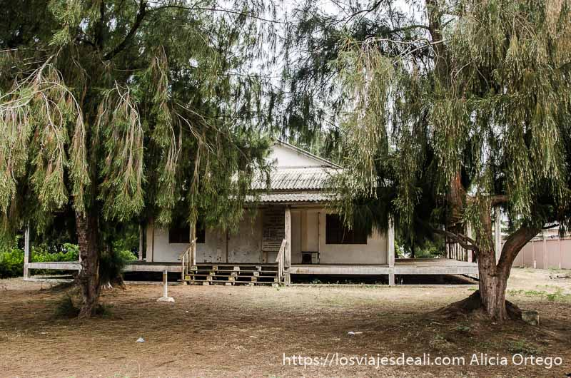 casa colonial en grand popó benin