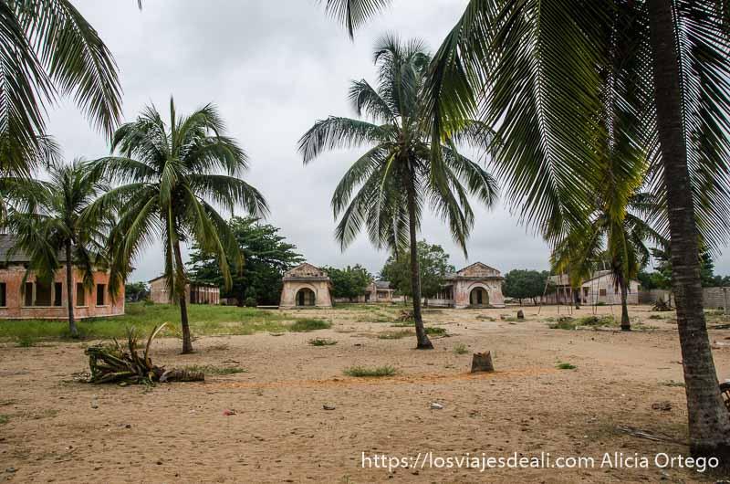 almacenes de aceite de palma en grand popó benin