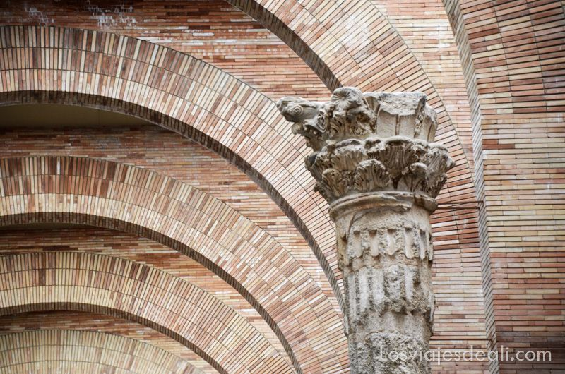 Museo de Arte Romano de Mérida de Rafael Moneo