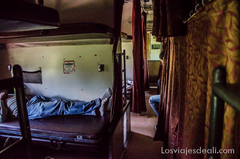 tren de India recuerdos al volver de un viaje