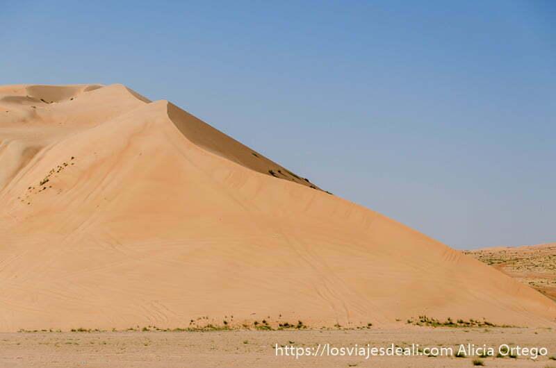 gran duna desiertos de oman