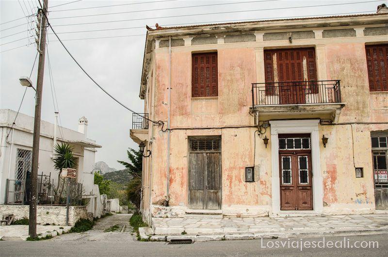pueblos del interior de naxos Halki