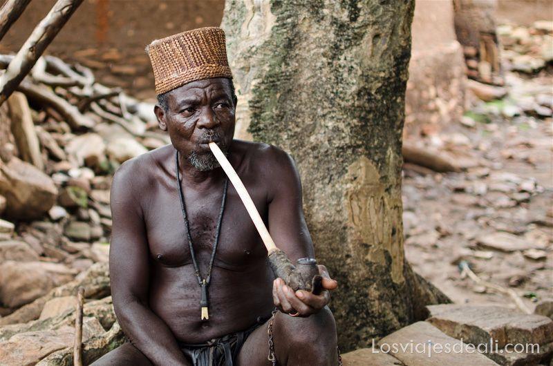 brujo del país taneka tribus de benin