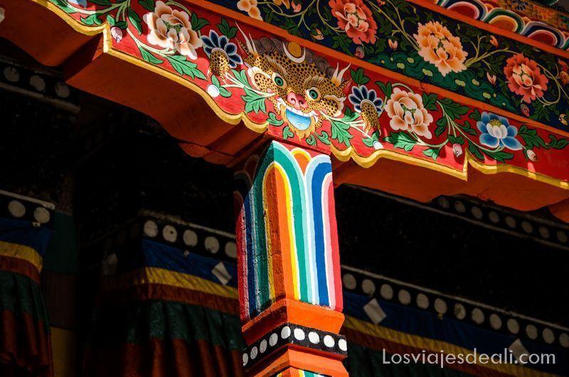 valle del indo colores del budismo