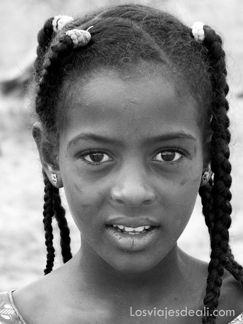 niña de Burkina Faso en Gentes de África