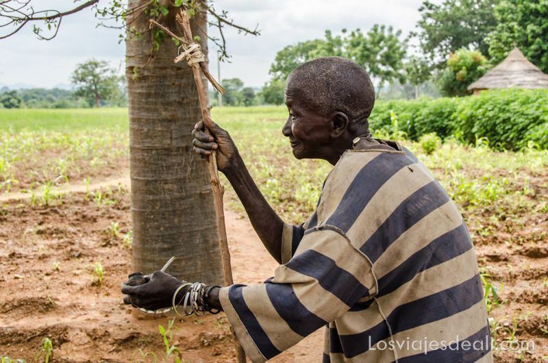 anciana del País Somba en Gentes de África