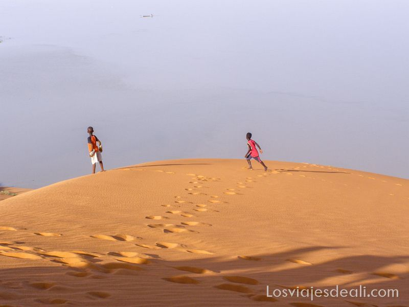 desiertos del mundo: Sahara y río Níger en Mali