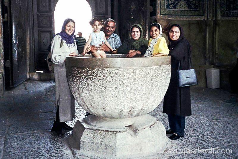 Gentes de Asia en Irán