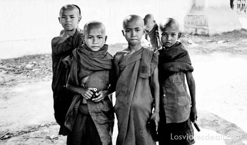 Gentes de Asia en Myanmar
