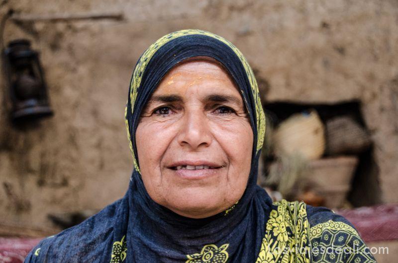 Gentes de oriente próximo mujer de Omán
