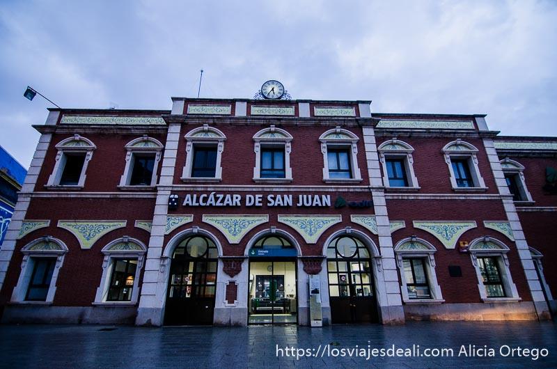 estación de tren de alcázar de san juan