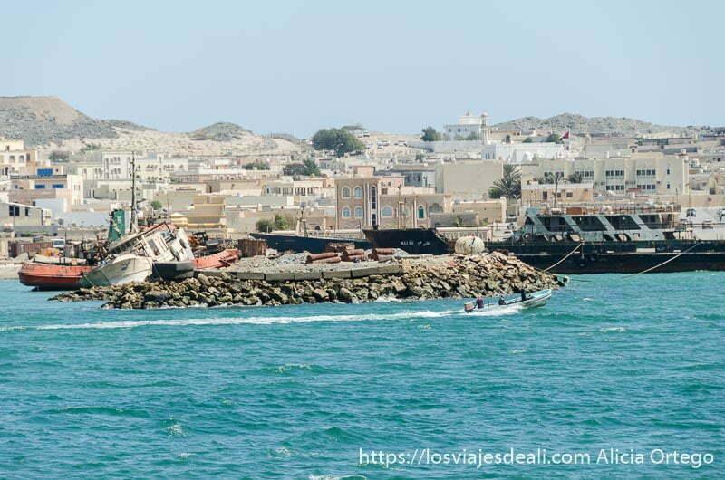 pueblo de masirah y puerto