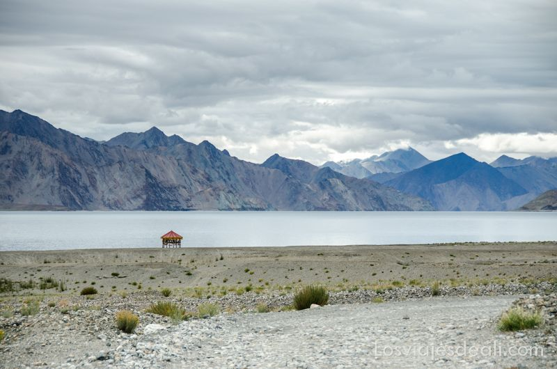 paisaje del lago pangong