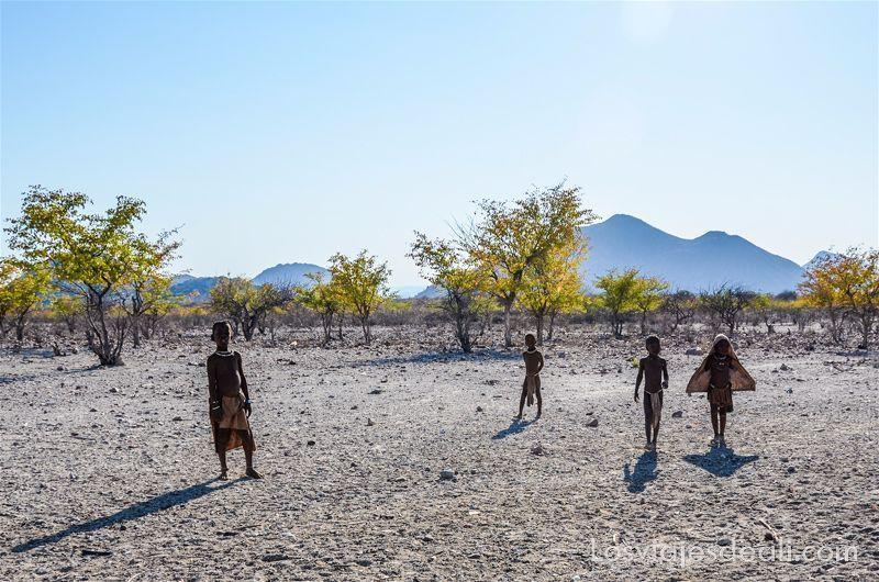 volver de un viaje a Namibia
