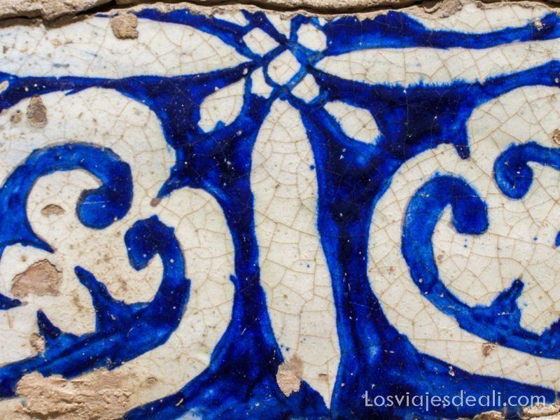 azulejo del mausoleo de Abakh Khoja