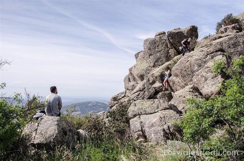 ruta la barranca Un fin de semana en la sierra de Madrid