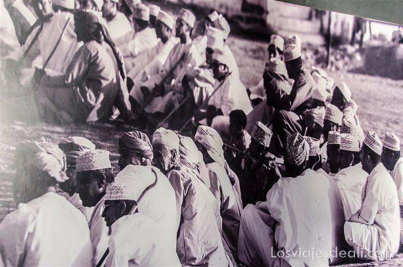 fotografía antigua de omán
