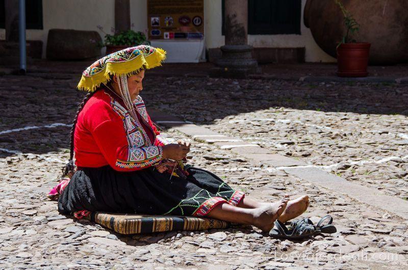 mujer de cuzco