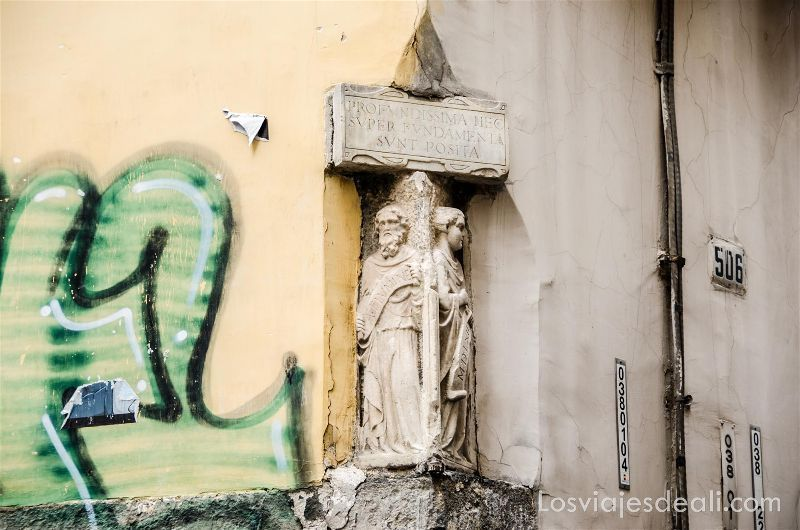 detalles en Paseos por Nápoles