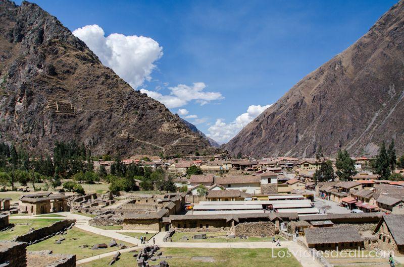 Ollantaytambo en el valle sagrado de los incas