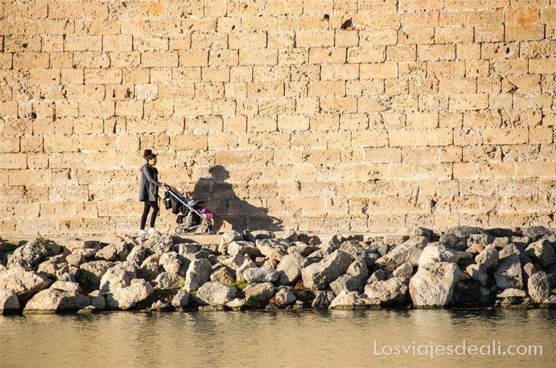paseo fotográfico por palma de mallorca muralla