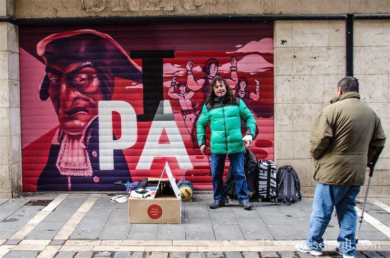 escapada a Pamplona streetart