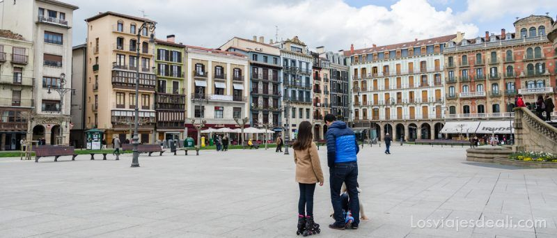 escapada a Pamplona plaza