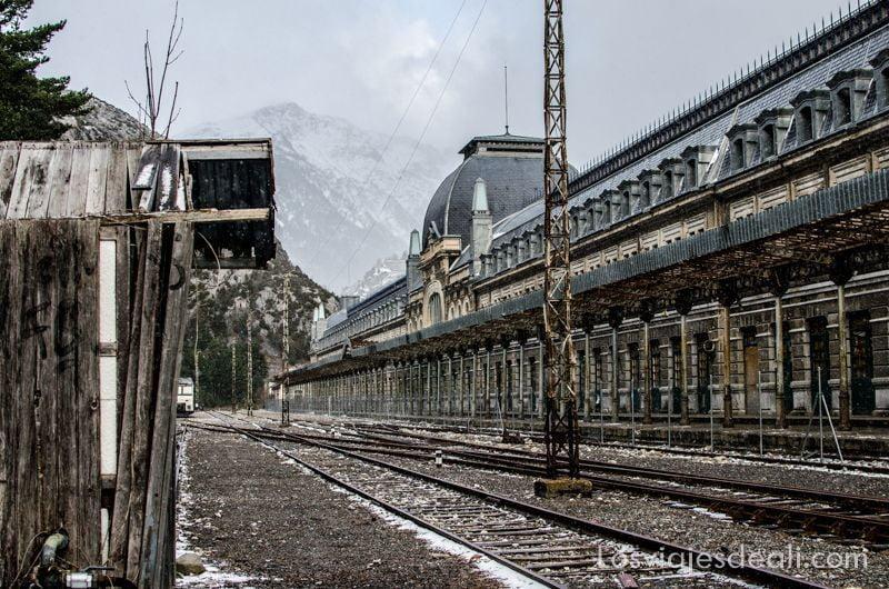 Jacetania estación de Canfranc