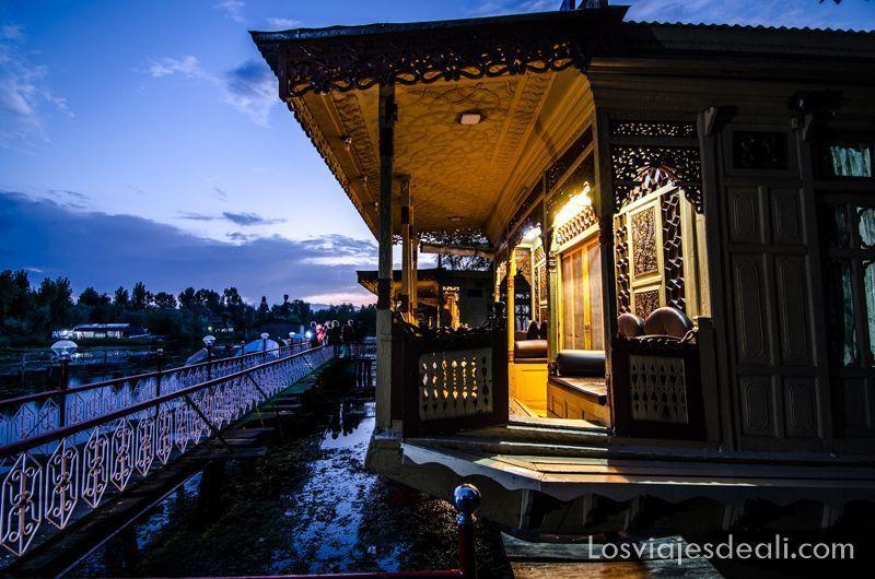 noche en Srinagar