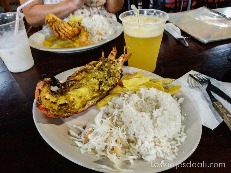 gastronomía galápagos