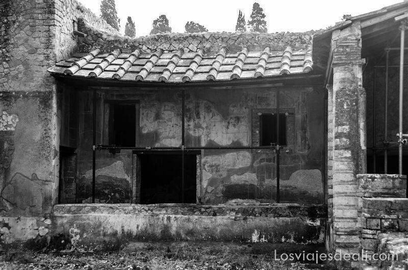 visita a Herculano antigua casa