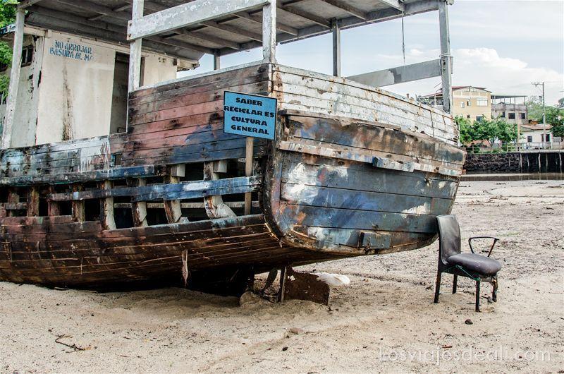 vivir en las islas galápagos reciclaje