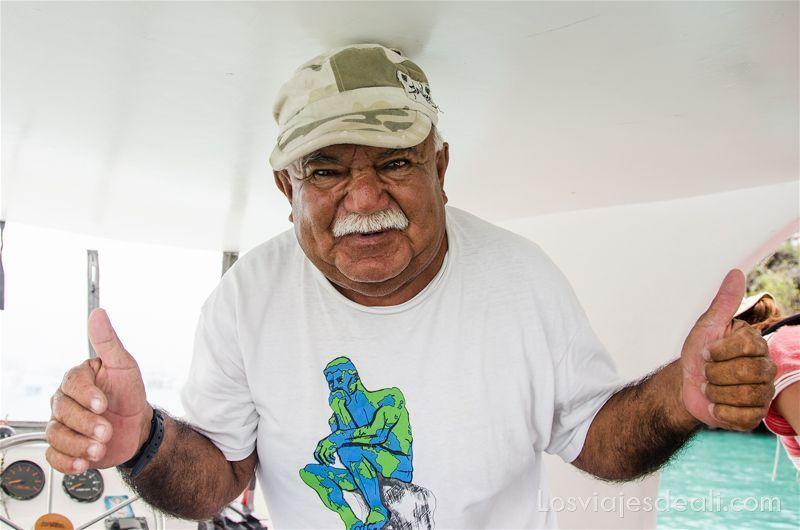 vivir en las islas galápagos gente