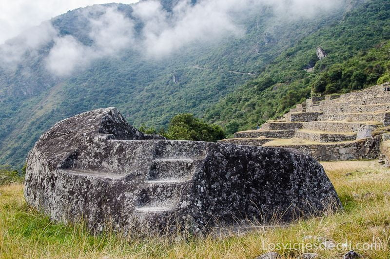 altar en Machu Picchu