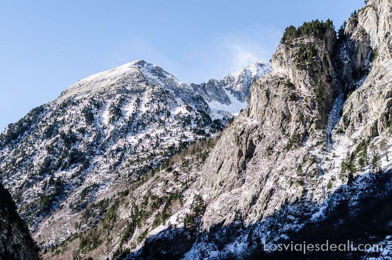 camino de respomuso en Pirineos de Huesca