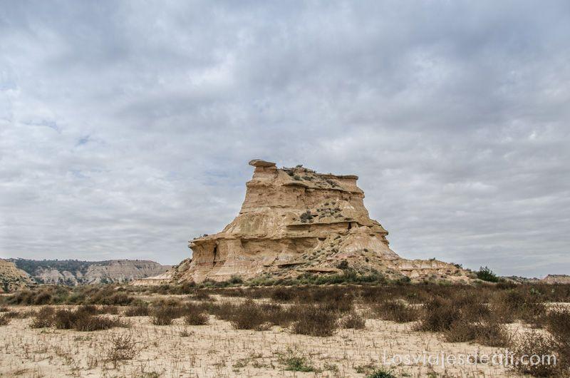 desierto de los monegros tozal de colasico
