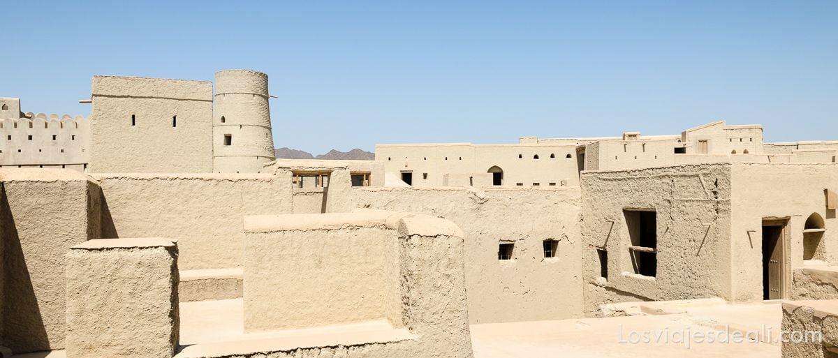 patrimonio de la humanidad en oman bahla fort